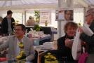 Yahia Belaskri et Hubert Haddad en séance dédicaces