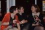 l5/ Deux lectrices et Elise Galpérine  © Club photo des Fourches