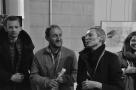 """vernissage de l'exposition """"16 premiers romans, 27 artistes"""""""