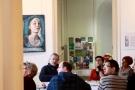 """h1/ rencontre avec l'atelier """"La plume et le pinceau"""" et Pierre Lamalattie   © Club photo des Fourches"""