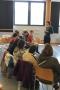 h3/ rencontre entre l'atelier lecture et Lucile Bordes   © Club photo des Fourches