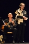 Inauguration (9c) : le guitariste Jean-Yves Moka et Philippe Languille