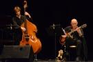 Inauguration (9d) : le contrebassiste Victor Pinçon et le guitariste Jean-Yves Moka