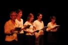 spectacle de clôture du festival : lecture dansée